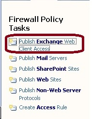 Firewall Policy Tasks