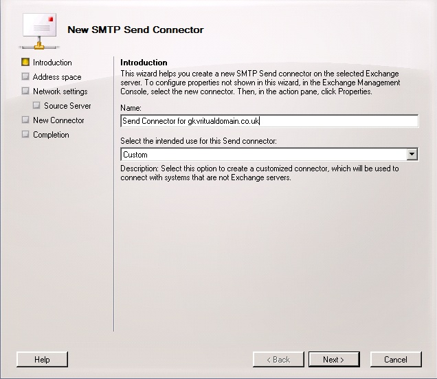 Configure Exchange 2007 or 2010 to relay email for an additional domain (3/6)