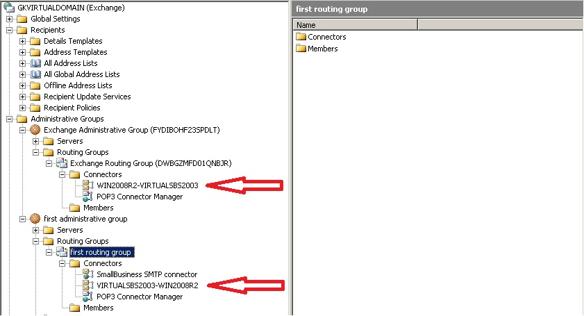 Migrate Small Business Server 2003 to Exchange 2010 and