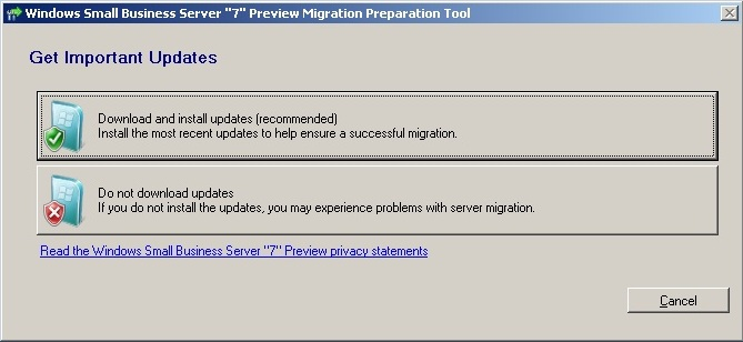 Migrate Small Business Server 2003 to Small Business Server 2011 ( SBS 2011 migration guide ) (2/6)