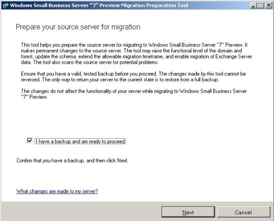 Migrate Small Business Server 2003 to Small Business Server 2011 ( SBS 2011 migration guide ) (3/6)